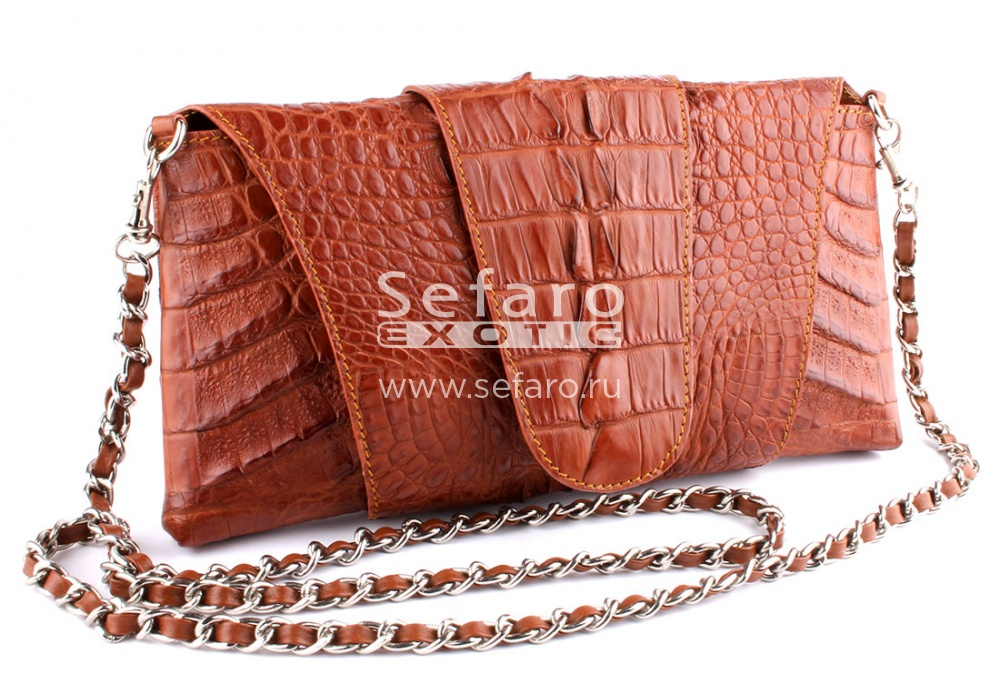 29da7bb0851f Клатч из кожи крокодила HK-D3207 — Клатчи Сумки — Sefaro